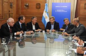 Reunión por corrección en tarifas / Foto: Ministerio del Interior, Obras Públicas y Vivienda