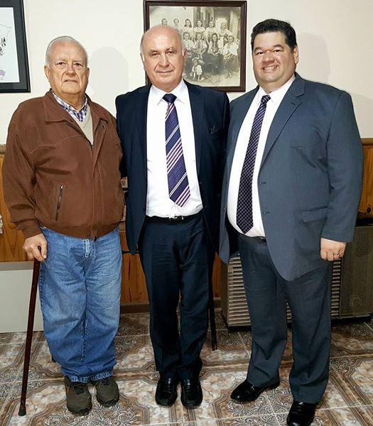 Visita de diplomático eslovaco