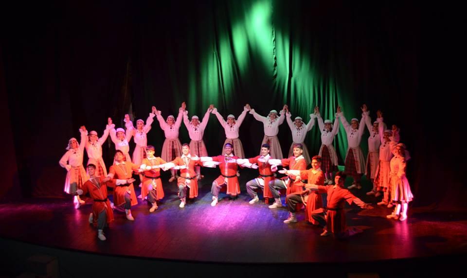 Ballet Chaika en Pinamar
