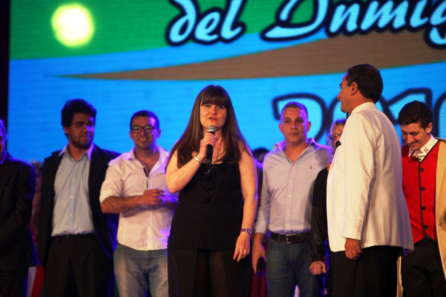 A Eugenia Martínez le tocó presidir la AEE durante la 39a edición de la Fiesta