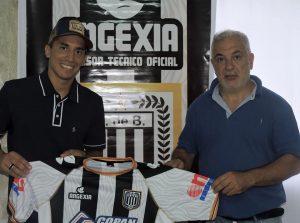 Agustín Leguiza junto a Carlos Crisci
