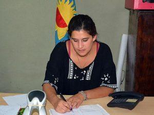 Daniela Goga, coordinadora de DDHH y Asistencia y Prevención de la Violencia de Género.