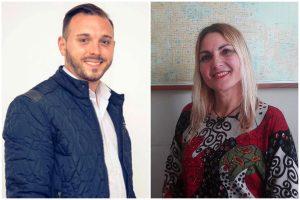 Ezequiel Giuffrida y Roxana Garavento, candidatos a concejal por Consenso Federal
