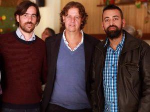 Nicolás Del Caño, Christian Castillo y Federico Surila, propuesta del Frente de Izquierda para Nación, Provincia y Municipio.