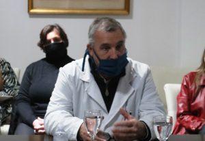 Ricardo Baudino, director del Hospital Larrain
